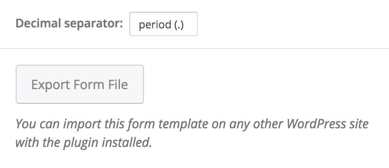 export-form